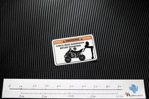 NO. TJ007 Бесплатная доставка Забавные предупреждающие светоотражающие наклейки и наклейки MOTO GP мотокроссы велосипедные шлемы лобовое стекло ATV наклейки