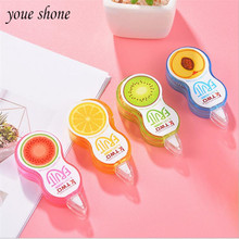 1PCS Correction Tape Creative Portable Cute Korea Small Fresh Simple Student Stationery Wholesale Correction Tape 5m YOUE SHONE