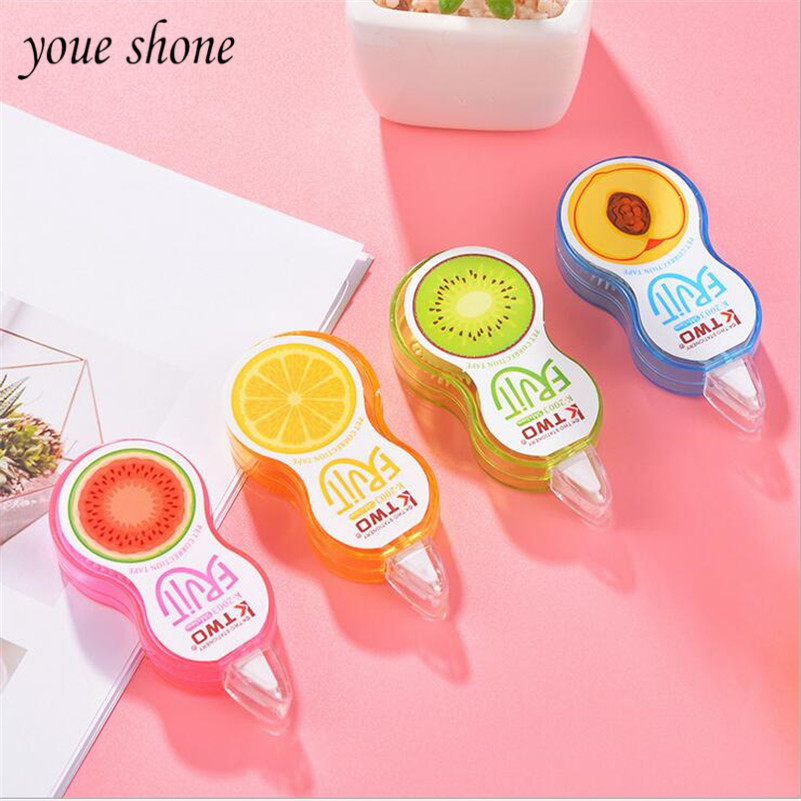1PCS Correction Tape  Portable Cute Korea Small Fresh Simple Student Stationery Wholesale Correction Tape 5m YOUE SHONE