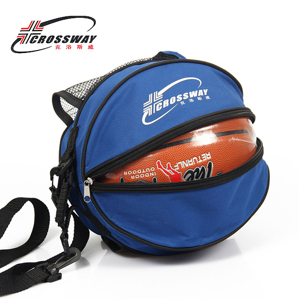 Crossway Brand Outdoor Sports Shoulder Portable Bag Case Soccer Ball Bags Football Volleyball Basketball Training Equipment In Basketballs From