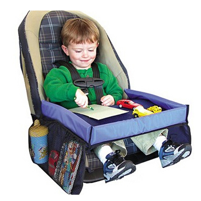Infant Stroller Toys Tray Board Table Stroller Accessories Child Car