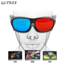 GLTREE 1PCS Stereo Movie Sunglasses Women Red-blue Cyan Anaglyph Simple Style