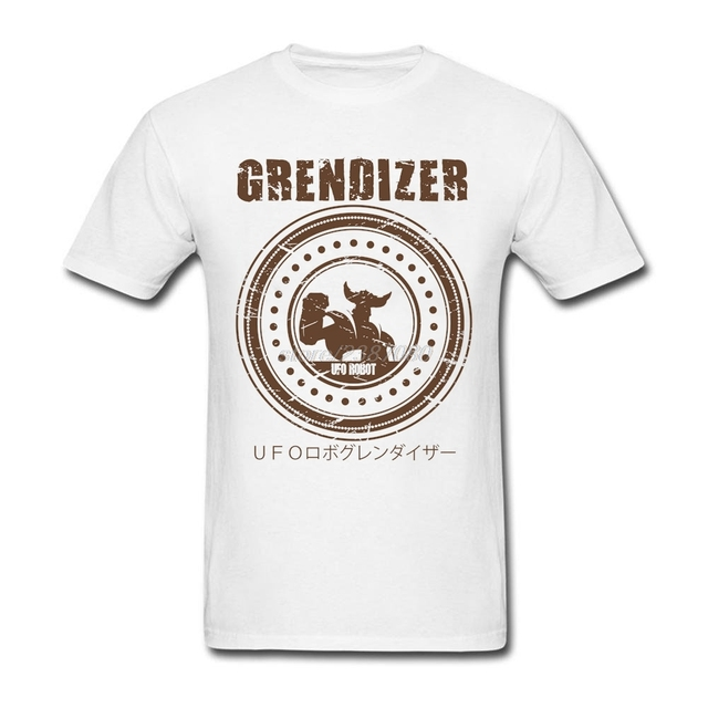 Best Selling Grendizer UFO Robot For Men Pre-cotton T Shirt New Design Pre-cotton Men's Clothes