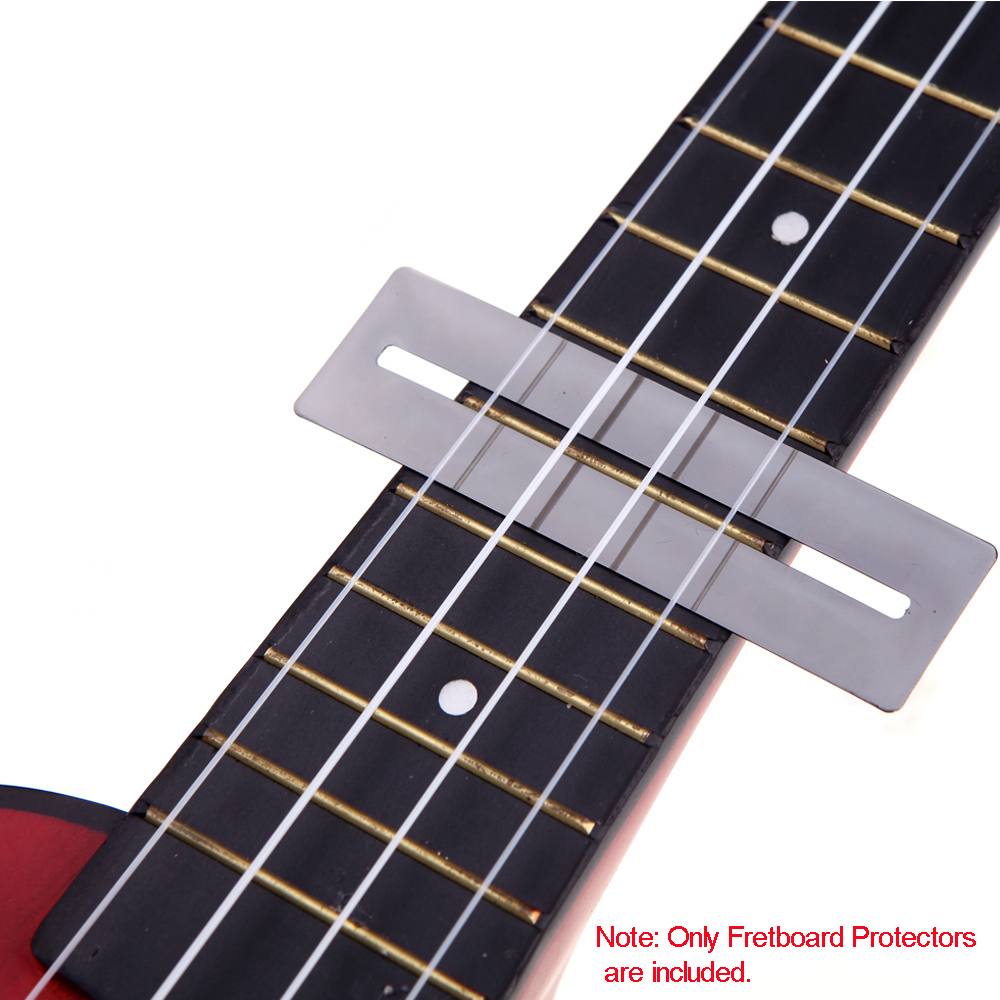 Expressive Top Quality 2 Pcs/set Bendable Stainless Steel Fretboard Fret Protector Fingerboard Guards For Guitar Bass Luthier Tool Tools Stringed Instruments