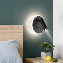 Victory Nordic Bedroom Led Bedside Wall Lamps  With Art Living Room Corridor Led Indoor Lighting Sconce Wall Lights недорого