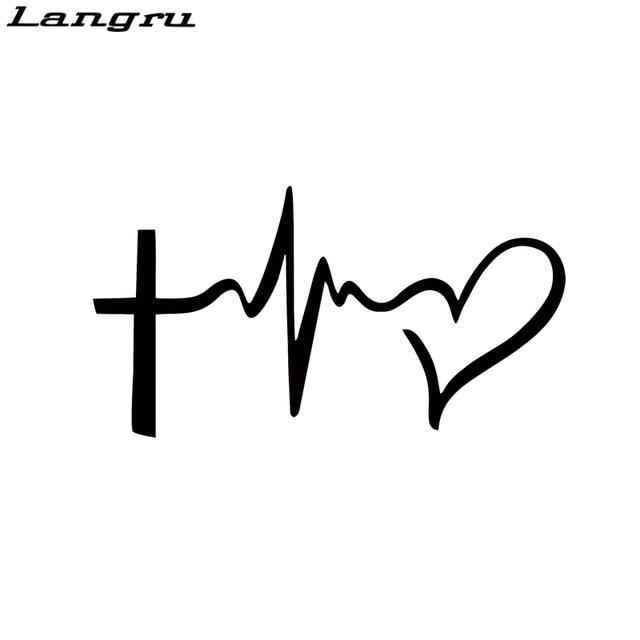 Langru Faith Hope Love Vinyl Decal Sticker Car Window Wall
