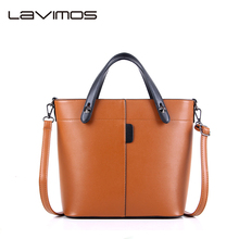 Capacity Designer PU Leather Women Handbag Shoulder Bags Tote Ladies Bucket Bag Hobo Cross-body Bag
