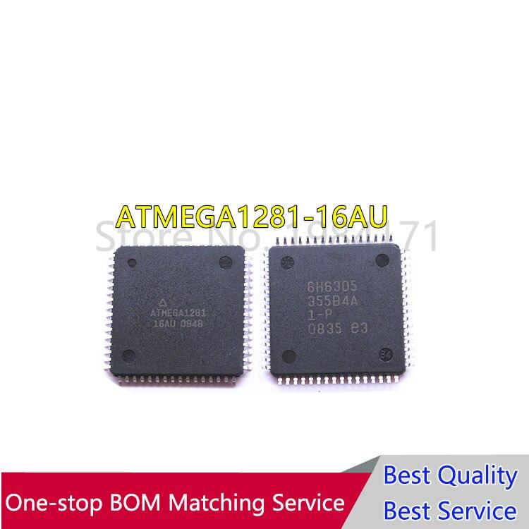 10pcs ATMEGA1281 16AU ATMEGA1281 QFP64 controller New