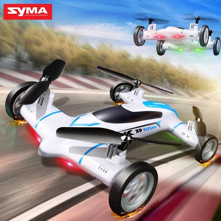 Syma X9 Quadcopter Flying Car Remote Control font b Drones b font Dron 360 Degree Eversion