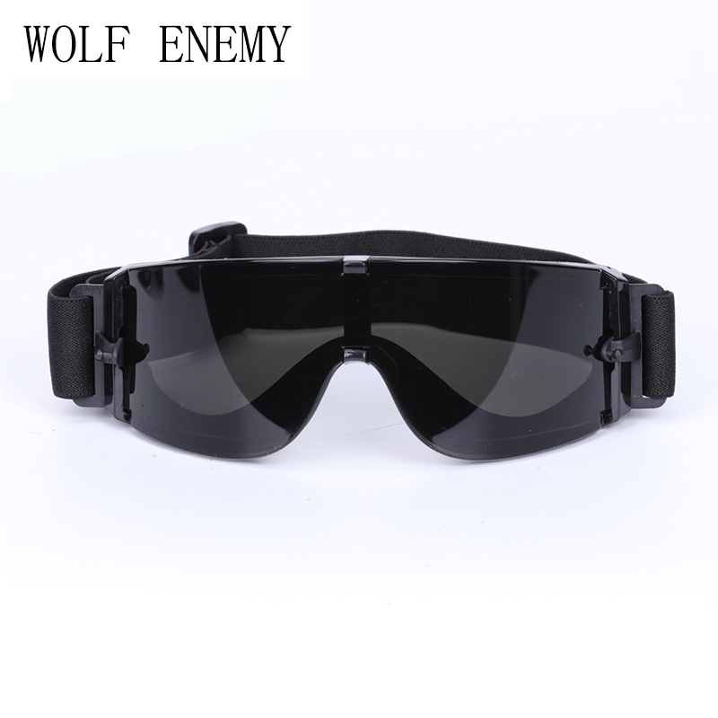 X800 Military Goggles, Ballistic Lenses Tactical Bulletproof, Army Sunglasses, Paintball Airsoft Hunting Combat Glasses