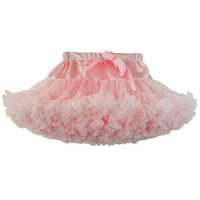Girls Fluffy Chiffon Pettiskirt Tutu Skirts Baby Kids Dance Skirt Christmas Tulle Petticoat Newborn Photo Prop