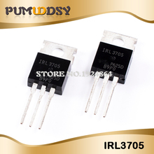 50PCS IRL3705N TO 220 IRL3705NPBF TO220 IRL3705 신품 무료 배송 IC