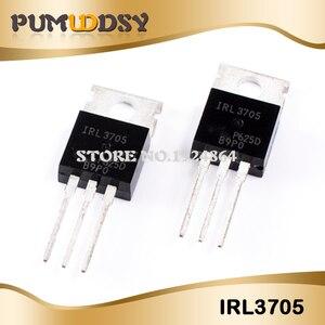Image 1 - 50PCS IRL3705N TO 220 IRL3705NPBF TO220 IRL3705 new original free shipping IC