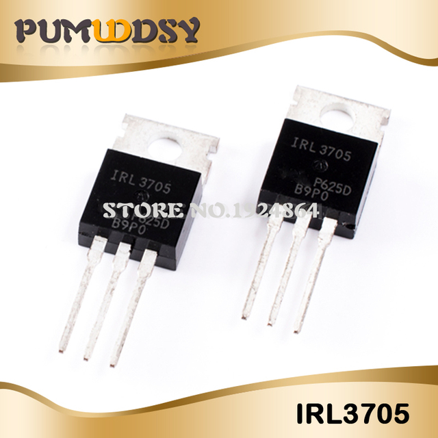50PCS IRL3705N TO 220 IRL3705NPBF TO220 IRL3705 new original free shipping IC
