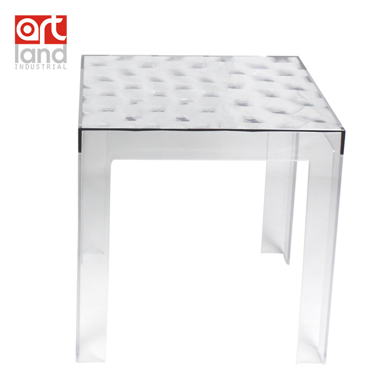 Molded Plastic Coffee Table, Transparent Clear Teapoy, Tea Table, Free  Shipping Door To Part 27