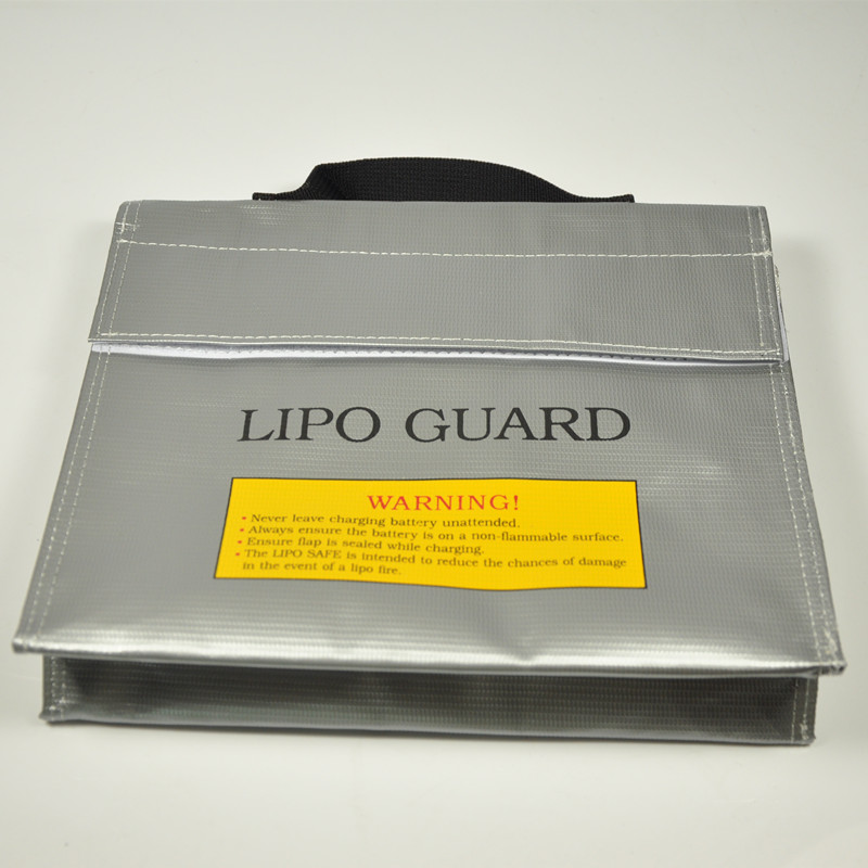 Fireproof Explosionproof RC LiPo Battery Safety Bag Safe Guard Charge Sack 240*185*65mm