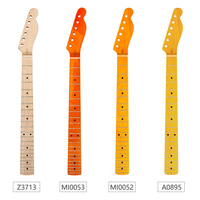 Guitar Neck Maple 22 Fret Maple Fingerboard Black Dot Inlay for Electric Guitar Replacement Parts