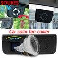 Солнечный автомобильный охладитель радиатора Авто вентиляционное отверстие вентилятор охлаждения для Honda Civic Accord Fit CRV HRV City Jazz Subaru Forester Imprea ...