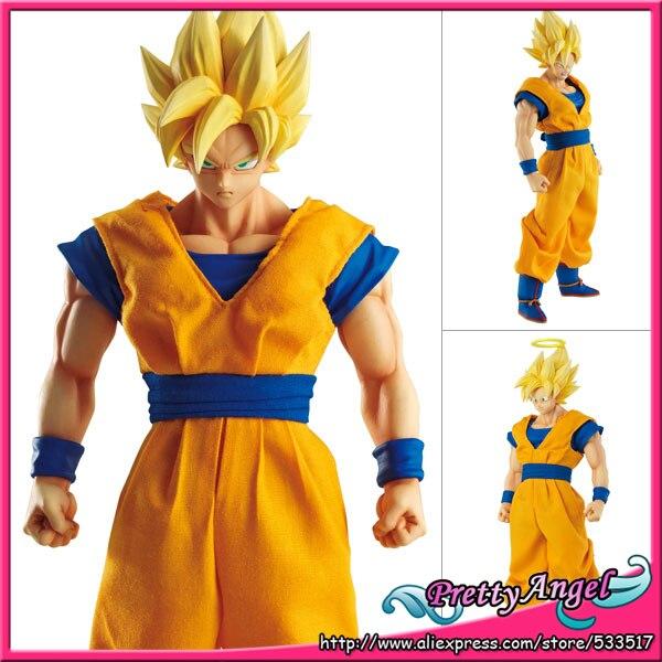 PrettyAngel - Genuine Megahouse Dimension of Dragon Ball DOD Super Saiyan Goku PVC Action Figure prettyangel genuine megahouse dimension of dragon ball dod bulma pvc action figure