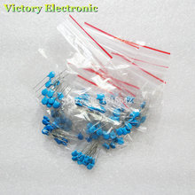100% New Ceramic Capacitors Combination Kit High Pressure 2KV102K-821K 10Kinds 100PCS/Set Wholesale Electronic