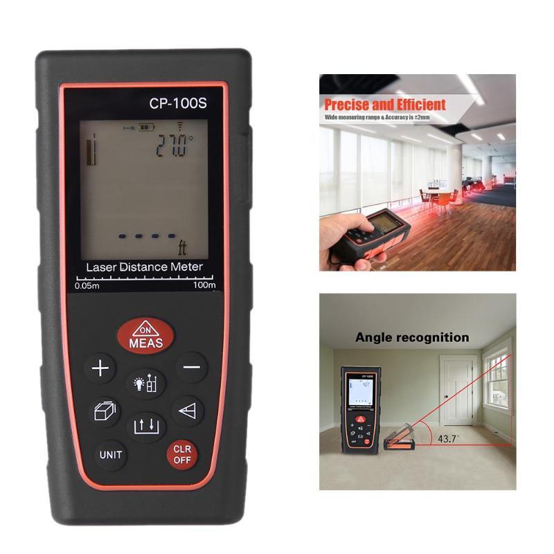 Professional Digital Laser Distance Meter Range Finder Construction Industry Distance Gauge Measuring Tool Laser Range Finder