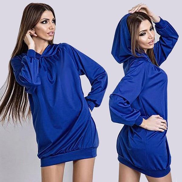 Pullover hoodie kleid werbeaktion shop f r werbeaktion for Sweatshirt kleid lang
