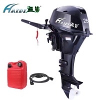 HaiDi Water Cooled 4 stroke 25 HP marine engine outboard motor for boats long Electric start