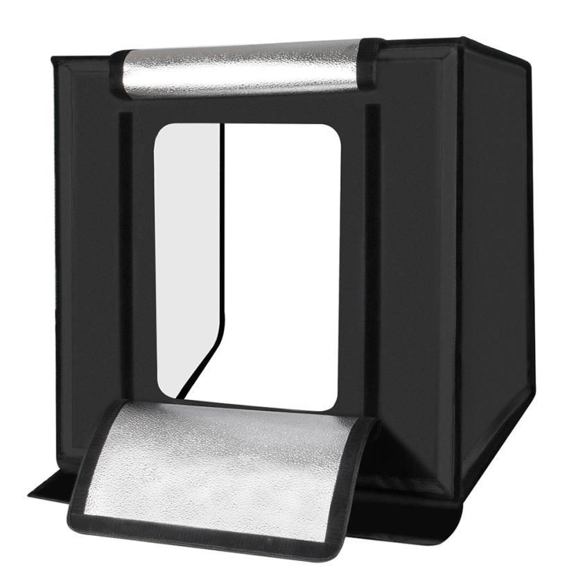 Light Room Photo Studio Photography Lighting Tent Kit: 2018 Portable Double LED Light Room Photo Studio