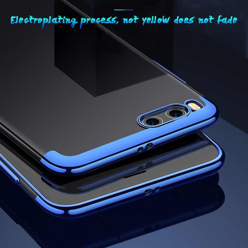 Прозрачный покрытие Мягкие TPU чехол для сяо mi Pocophone mi 8 mi A2 Lite mi A1 заднюю крышку светит для Xiaomi mi x 3 Макс 3 6X 5X