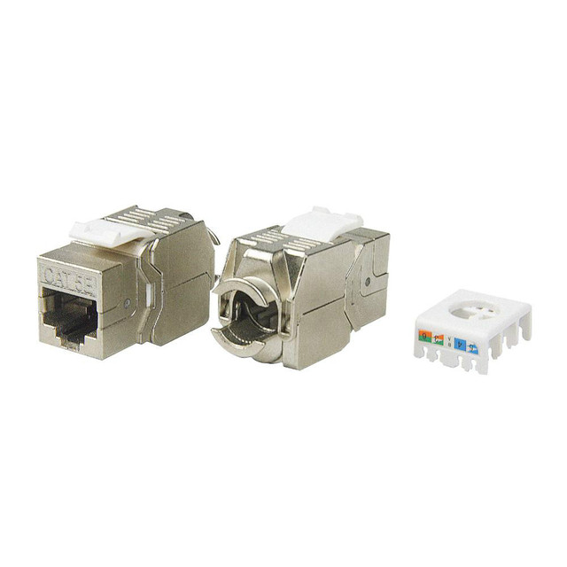 aliexpress com buy network rj45 cat5e keystone jack full network rj45 cat5e keystone jack full shielded tool connection linkway brand new