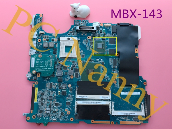 A1168277A MBX-143 For Sony VGN-FS48C VGN-FS Series Motherboard System Main Board I915PM DDRII nVIDIA GeForce FX Go6400 64MB