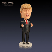 US Presidential Car Decoration Trump Character Statue New York Sculpture Car Decoration Pen Holder Picture Frame Wedding Gift