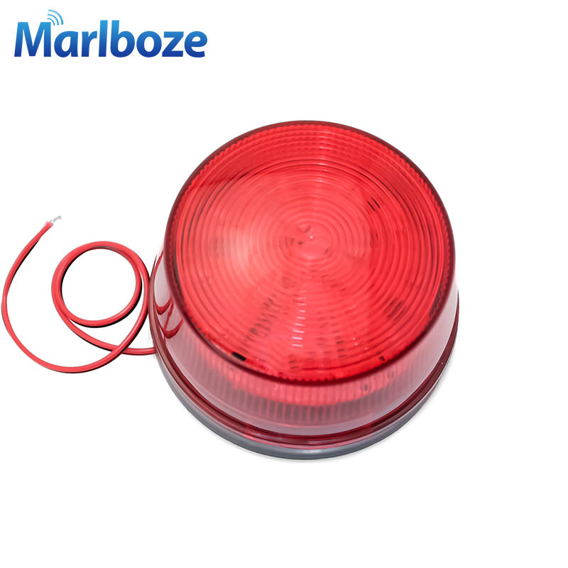 Security Alarm Multi-function Led Warning Light 1 Layer Tricolor Folding Led Warning Lamp Flashing Sos Lamp Safety Indicator Light
