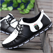 Fall 2017 British small leather shoes fashion men's casual shoes breathable male shoes     R25