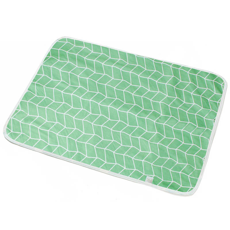 Baby Portable Washable Changing Mat Infants Cute Waterproof Foldable Mattress Children Game Floor Reusable Diaper pad