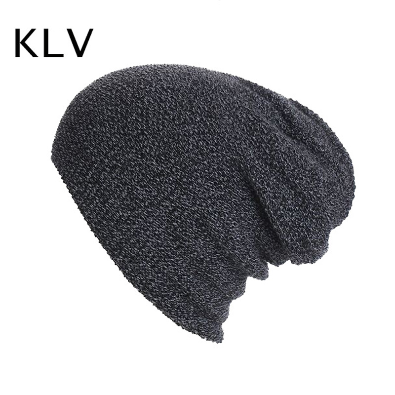 2017 Autumn and Winter Warm Hats Solid Knitting Beanies Hat for Women Men Hedging Cap Fashion Gorros Hombre the new 2016 han edition affixed cloth wave cap hat hat tip to keep warm letter knitting hat qiu dong men and women