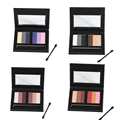 Miss doozy Makeup Box Palette Naked Basic Cosmetic Eyeshadow Pallete Shadow Glitter Kit Glitter Balm Pallette Nude Tude 6 Colors