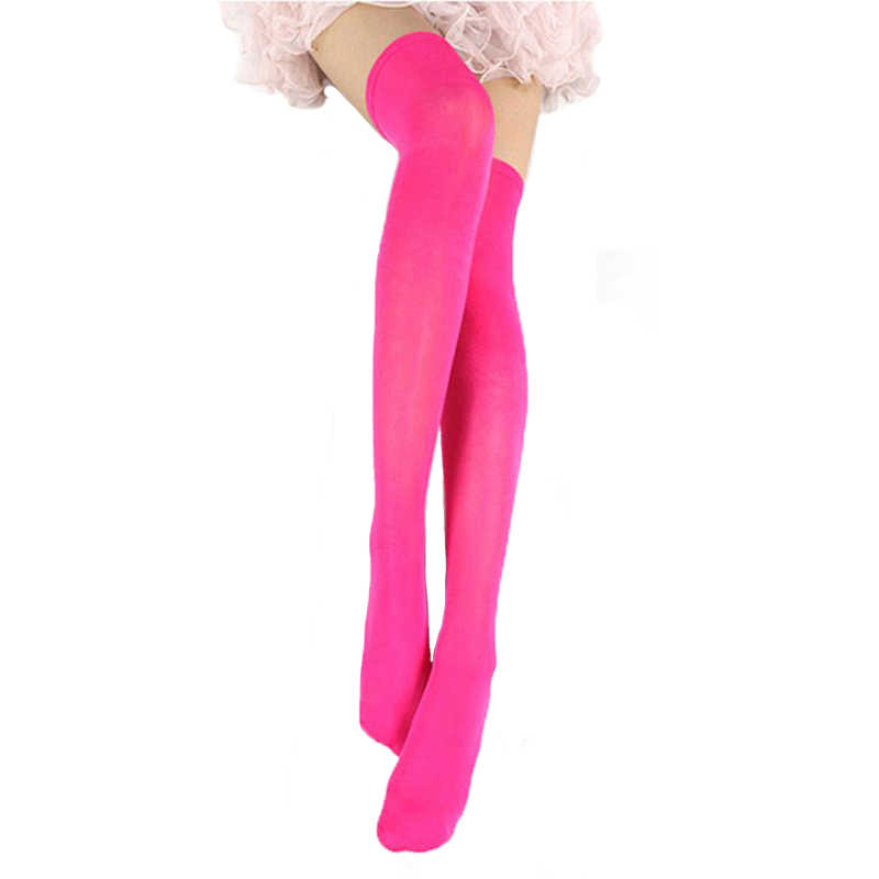 6f9cc903f9a ... Women Sexy Stockings Fashion Over Knee Stockings Temptation Stretch  Stocking Warm Medias Overknee Velvet Calze