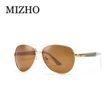 MIZHO Brand Designer 30g GG HD UV Protection Goggle Women Polarized Pilot Aluminum Man Sunglasses UV400 Polarized Fishing