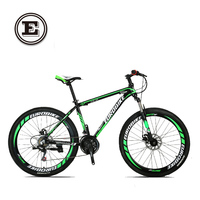 Speed Road Mountain Bike 21speed 26 Inch Double Disc Bicicleta High Quality Tire Complete Bike Suspension