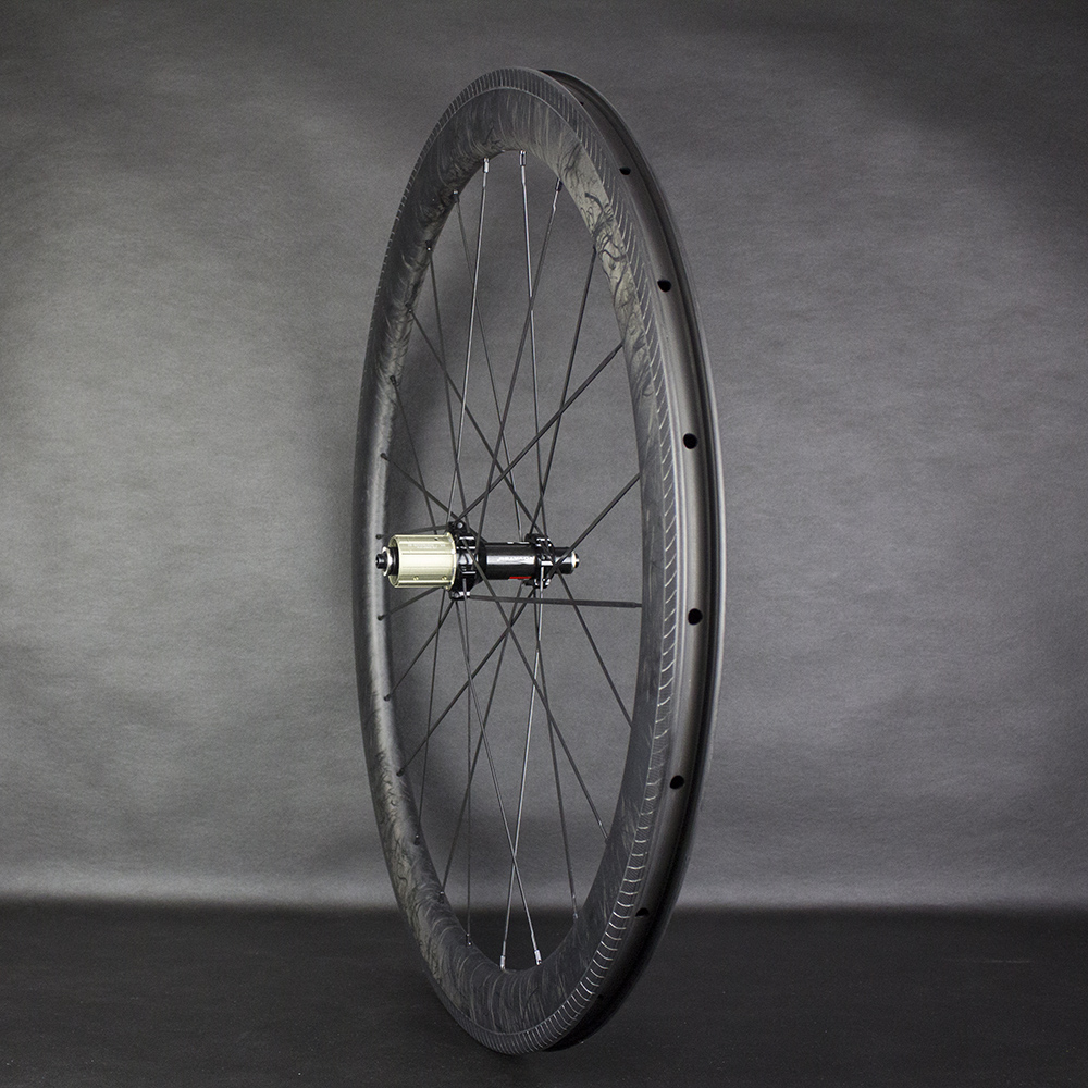 Image 3 - 2020 New Wheels Novatecs AS61cb/FS62cb Carbon Hubs Straight Pull Carbon Marble Racing 38/50/60mm Tubular/Clincher/TubelessBicycle Wheel   -