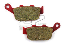 Motorcycle parts Brake Pads Fit HONDA NTV 650 1988-1997 NTV 600 Revere 1988-1992 Rear Red Ceramic Composite Free shipping