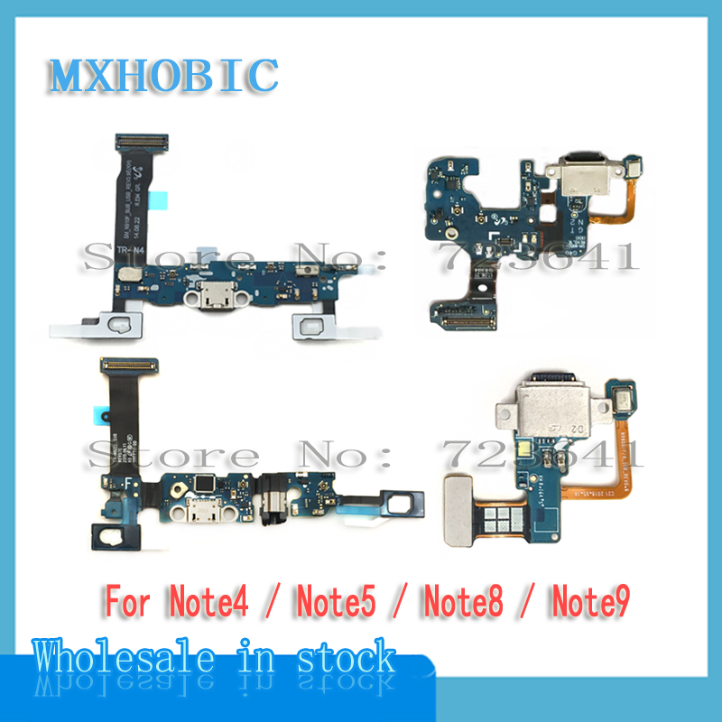Flex-Cable Charging-Port N960F Note-4 Usb-Dock-Connector Samsung Galaxy 10pcs for Note-4/5-8-9/N910f/..