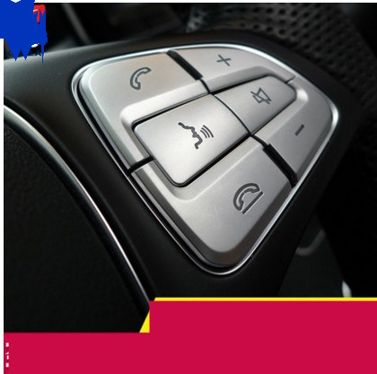 12pcs ABS Car Steering Wheel Button Switch Trim Cover Sticker for Mercedes Benz A B CLA CLS GLE GLS Class 2015-2016 new models mewant black suede car steering wheel cover for mercedes benz c180 c200 c350 c300 cls 280 300 350 500 glk 300 2008 2010