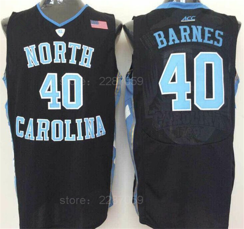 ediwallen cheap harrison barnes jersey 40 basketball college north carolina tar heels jersey black b