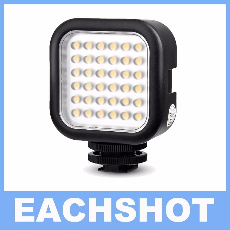 Godox LED36 5500~6500K LED Video Light 36 LED Lights Lamp Photographic Lighting for DSLR Camera Camcorder mini DVR