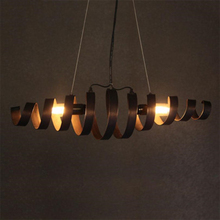 American Retro Loft Iron Pendant Lights Vintage Industrial Wind Pendant Lamp Bar Cafe Restaurant Hanging Lamp Luminaria Lighting nordic american country style retro personalized hotel industry restaurant cafe bar hallway iron pendant lamp lights lighting