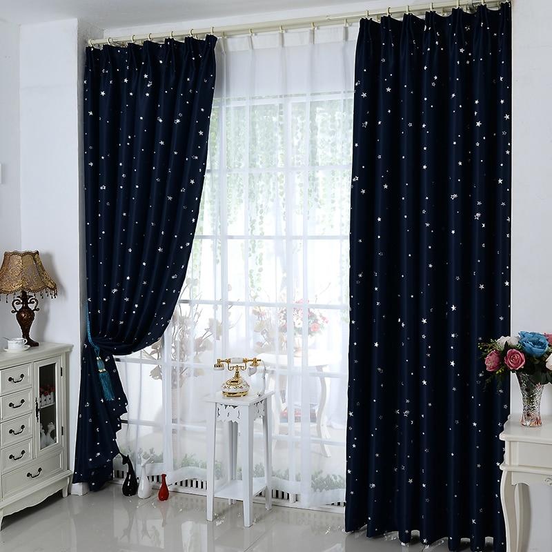 Di alta qualità tessuto finito parasole tende oscuranti camera da letto personalizzato windows e ...