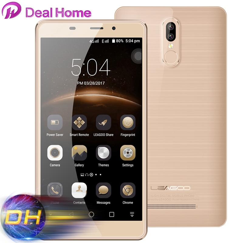 bilder für Ursprüngliche LEAGOO M8 pro Smartphone 5,7 zoll HD MT6737 Dual Zurück objektiv Handy 2 GB + 16 GB Fingerprint ID 3500 mAh 4G Handy