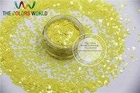 TCH301 2.0 MM Size Solventbestendige Mate Geel Kleuren Diamond ruitvorm glitter voor nail art en andere deco